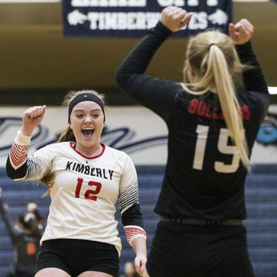 2017 3A state volleyball: Kimberly vs. Timberlake