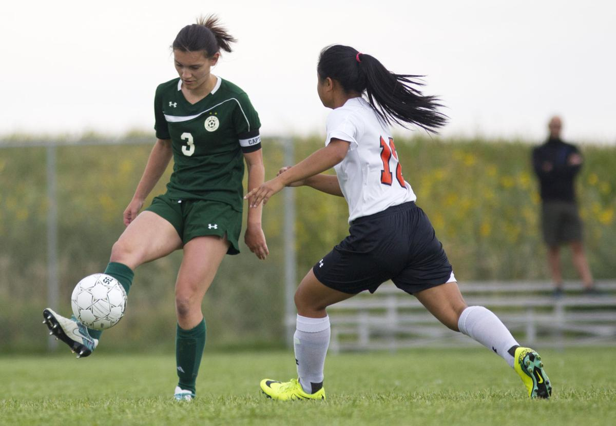 Jerome vs. Wood River girls soccer