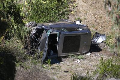 Tiger Woods Vehicle Crash