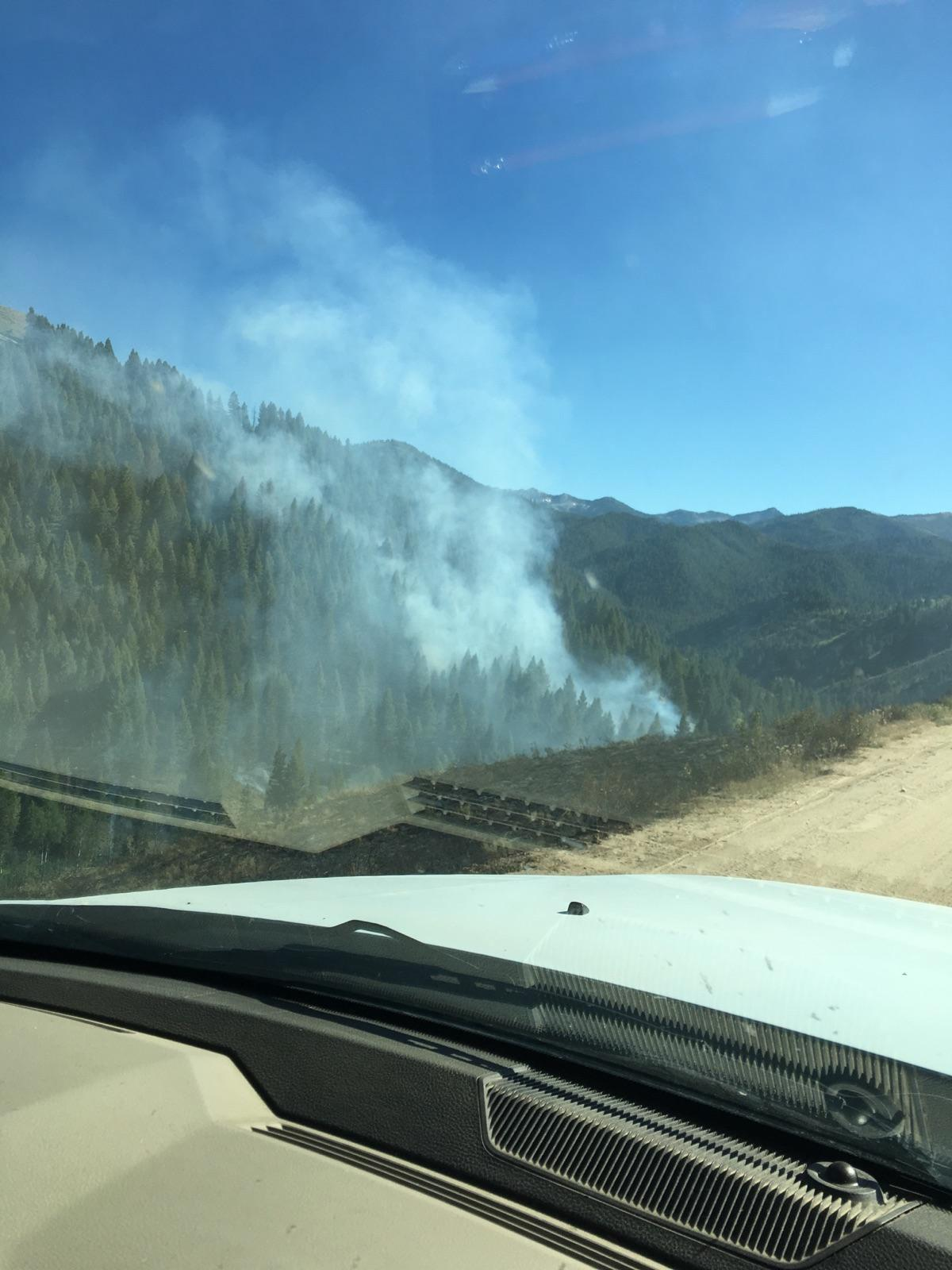 Fleck Fire North Of Fairfield 60 Percent Contained Southern Idaho Local News