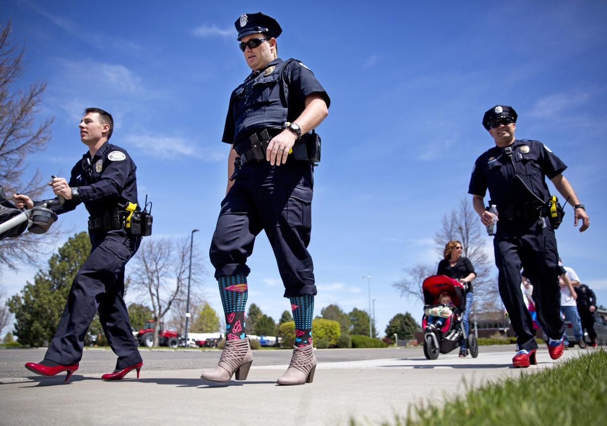 'Walk A Mile In Her Shoes' Event Raises Awareness For