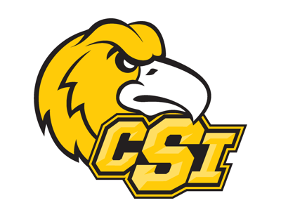 CSI logo with eagle