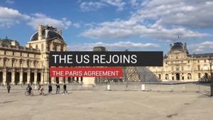 US rejoins the Paris Agreement