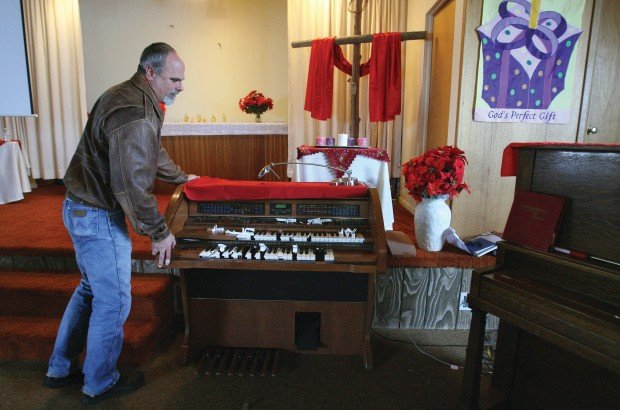 Praying for the perpetrator T.F. Community Church of the Brethren vandalized over weekend