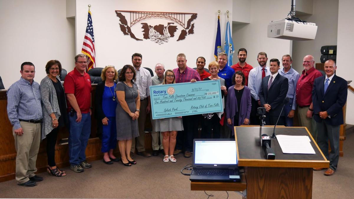 Rotary Club donates $120K toward downtown commons