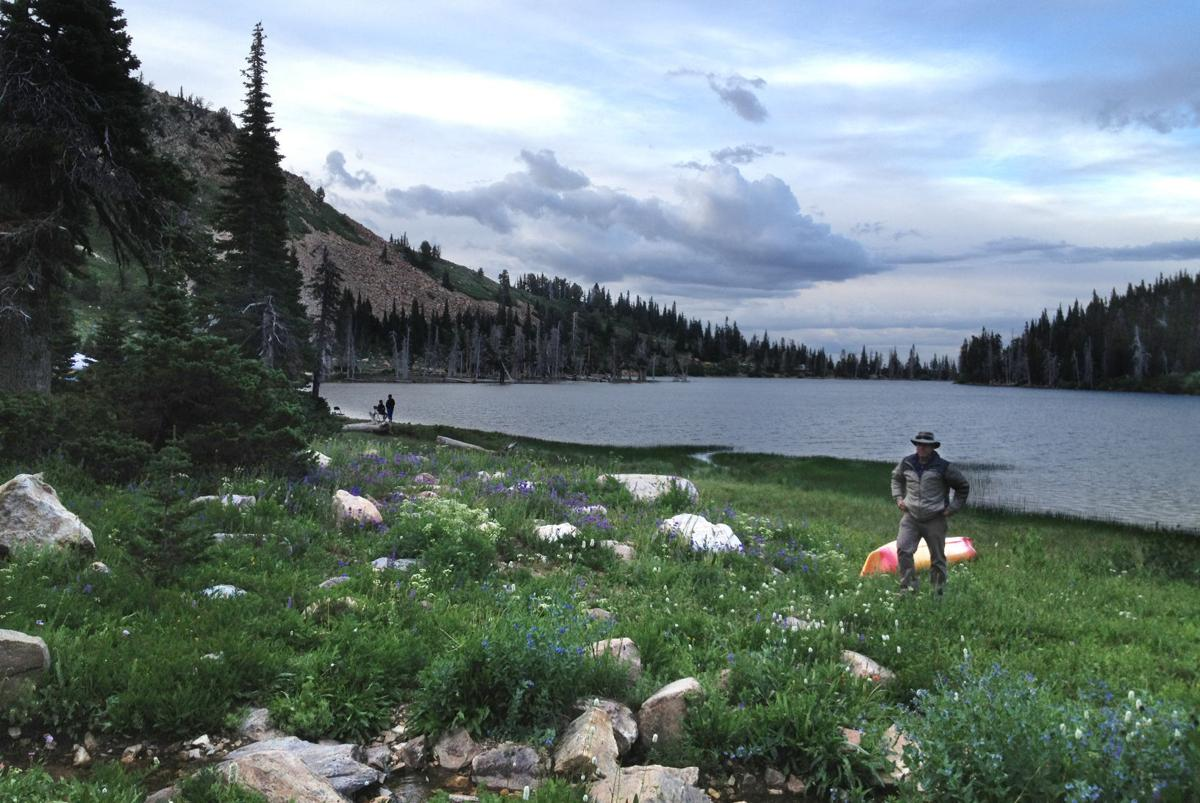 Lake cleveland high altitude beauty you can reach by car for Fish stocking ca