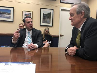 Jeremy Watson and Senator Mike Crapo