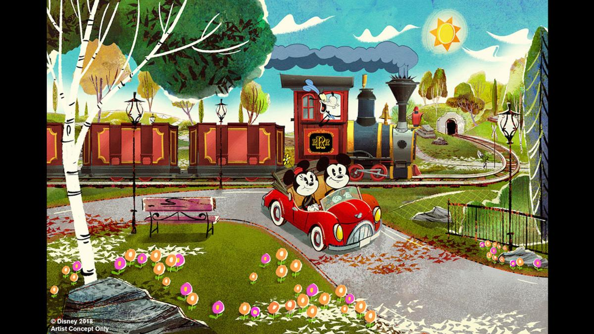 Mickey & Minnie's Runaway Railway is another attraction headed for Disney's Hollywood Studios theme park in 2019.