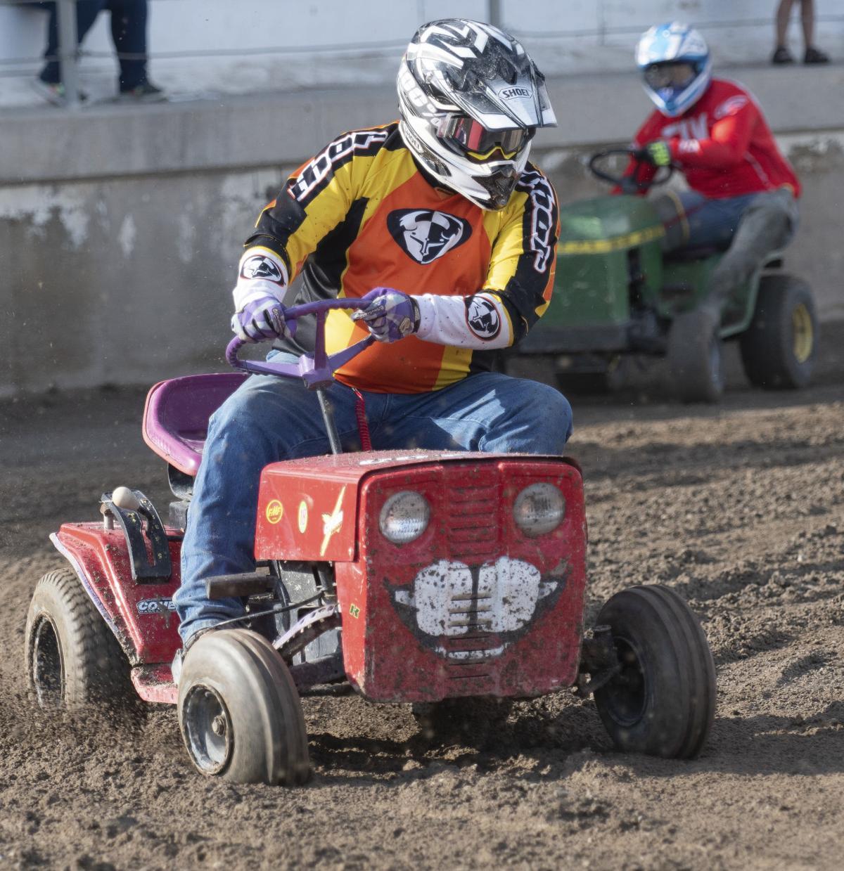 Minidoka County Fair - Lawn Mower Races