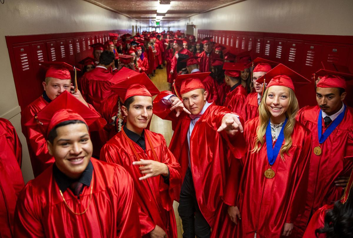 Minico High School graduation