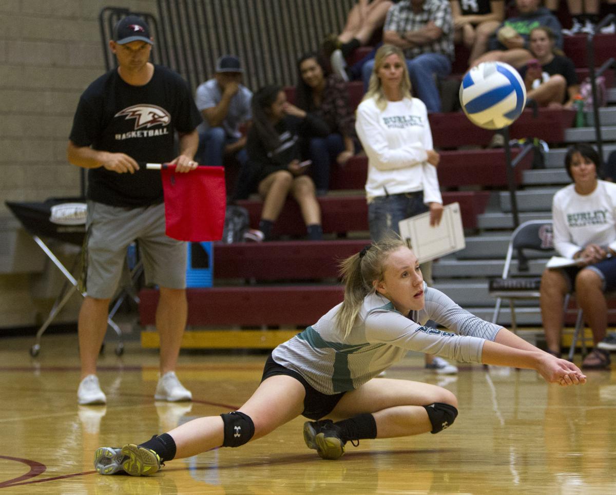 Canyon Ridge vs. Burley volleyball