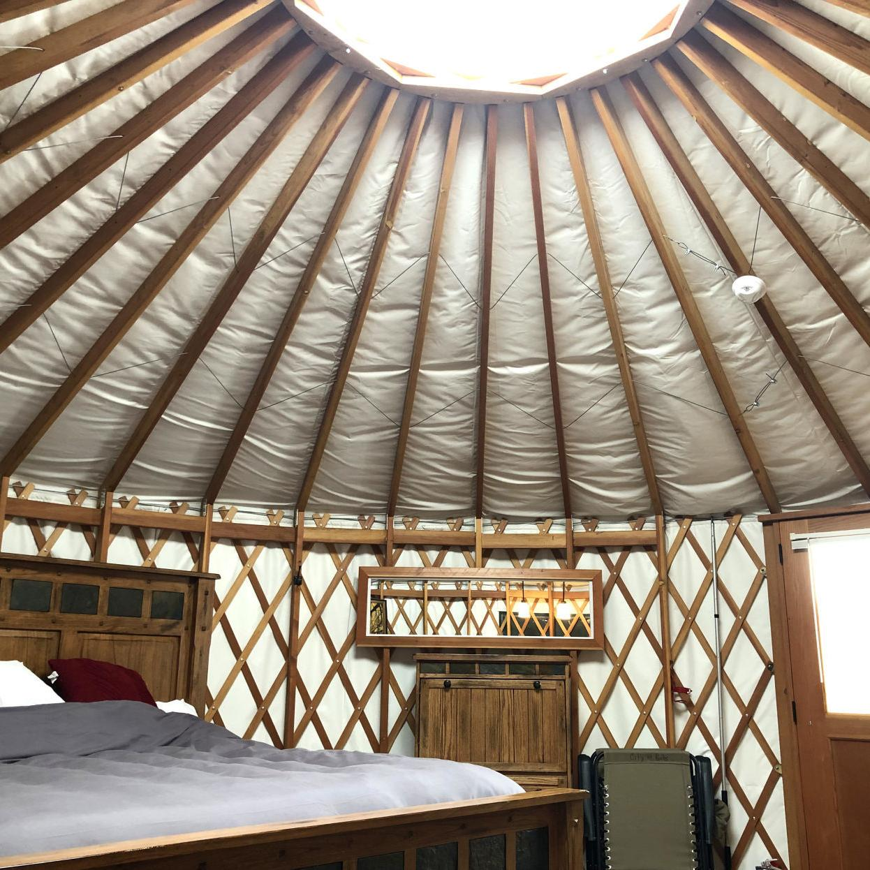 Adventure Guide Under A Sea Of Stars Yurt Glamping In Castle Rocks State Park Outdoors Magicvalley Com