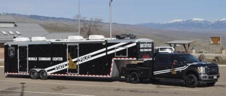 Idaho State Police Give Tour Of Mobile Command Center Today