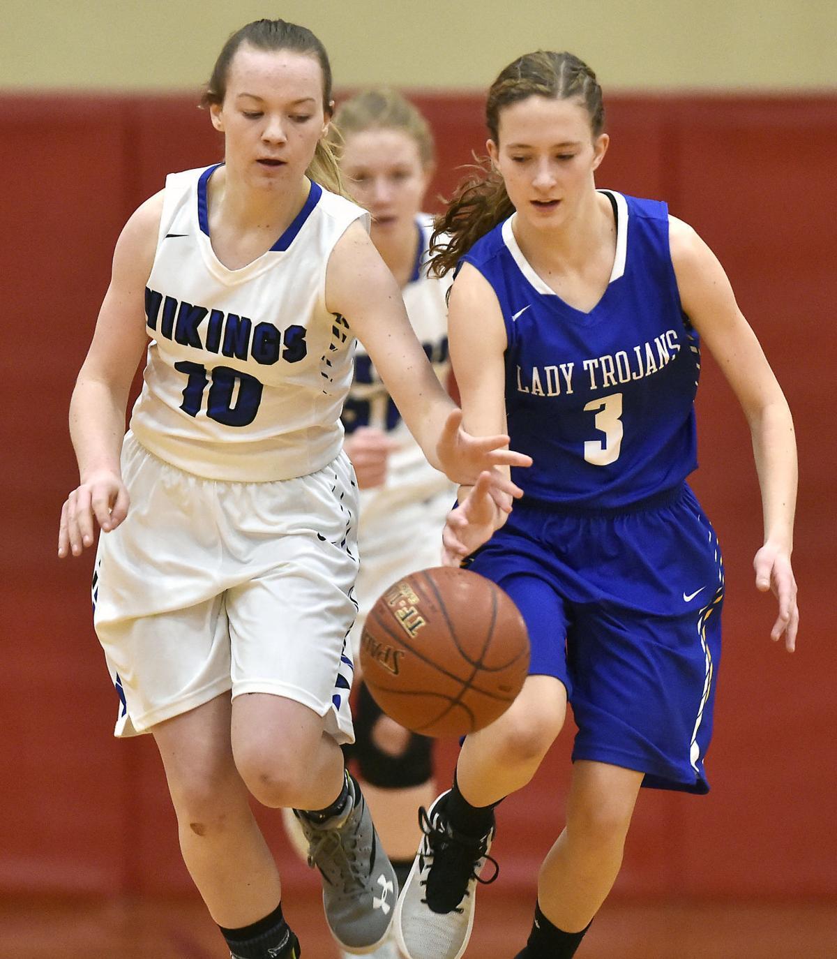 Girls Basketball - Raft River Vs. Valley