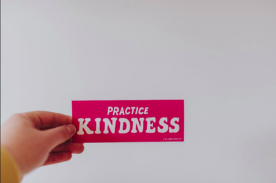 Commit to a regular random act of kindness