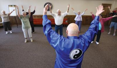 Retired Marine's Tai Chi Helps Seniors with Breathing