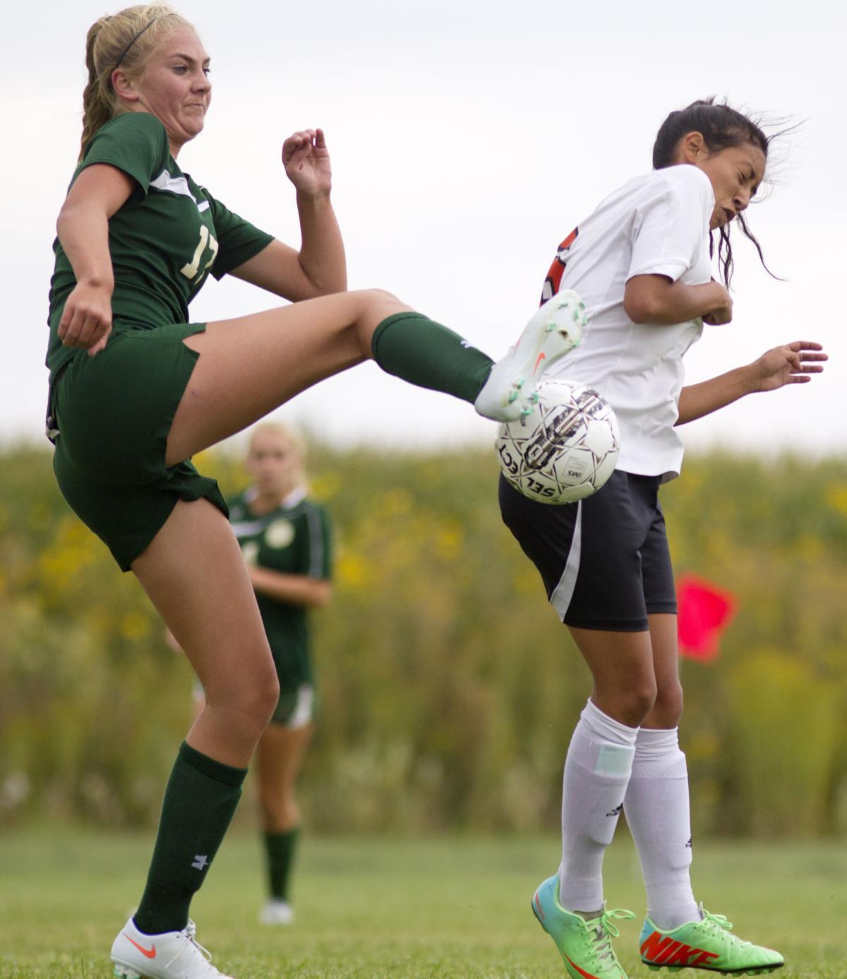 Jerome vs. Wood River girls soccer