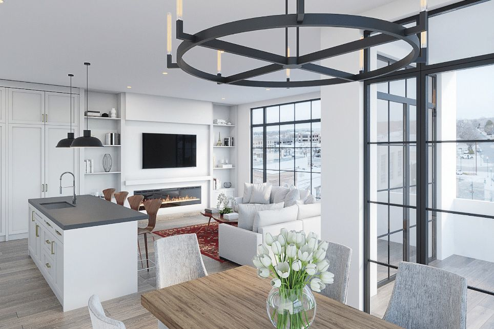 Apartment interior for OneSixty
