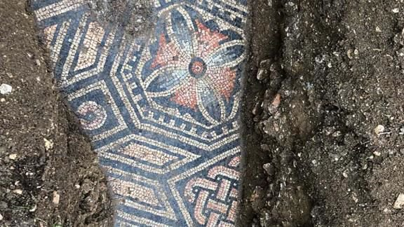 Italy mosaic floor