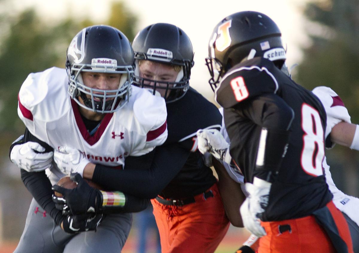 Jerome vs Canyon Ridge football