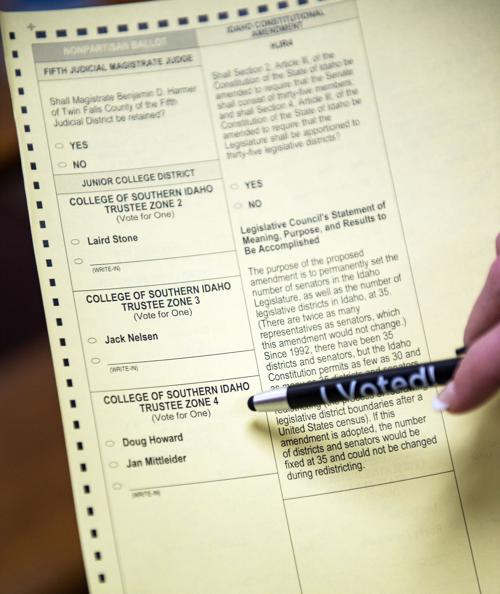 It S Time To Vote If You Haven T Already What To Know About Election Day In Idaho Politics Magicvalley Com