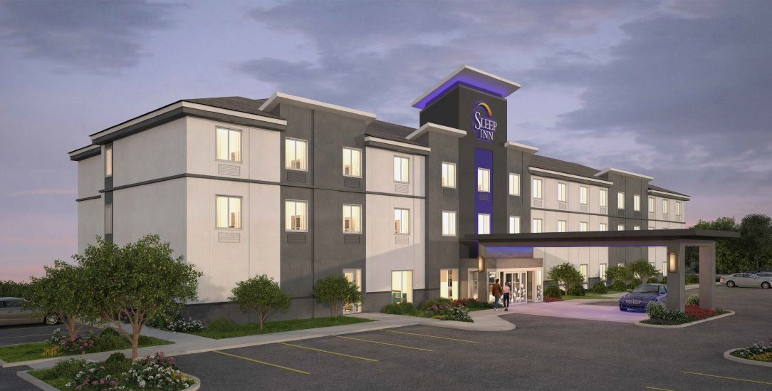 An Architectural Rendering Of The New Sleep Inn To Be Built In Burley