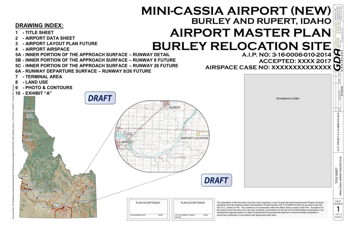 Burley airport draft plans
