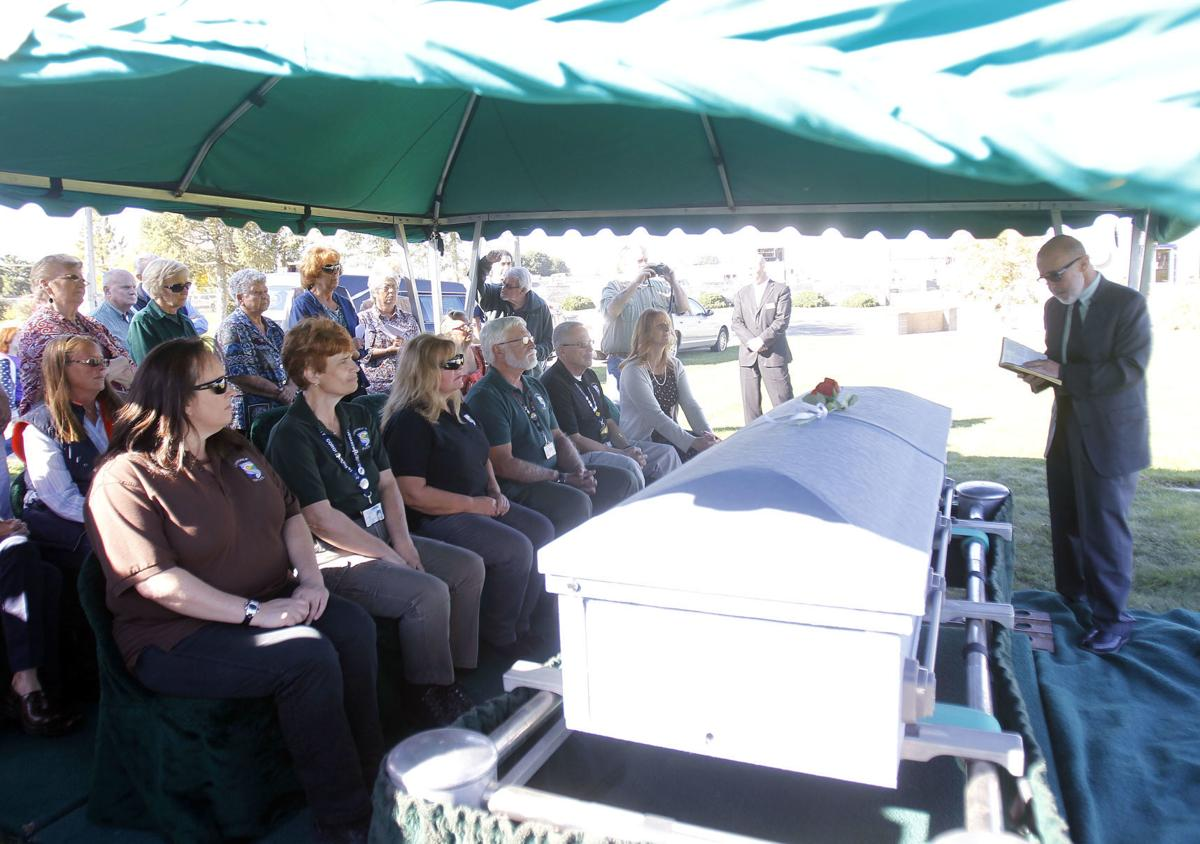 Funeral for Unidentified Woman