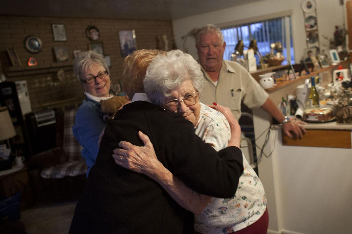 Jerome woman reunites with long lost siblings