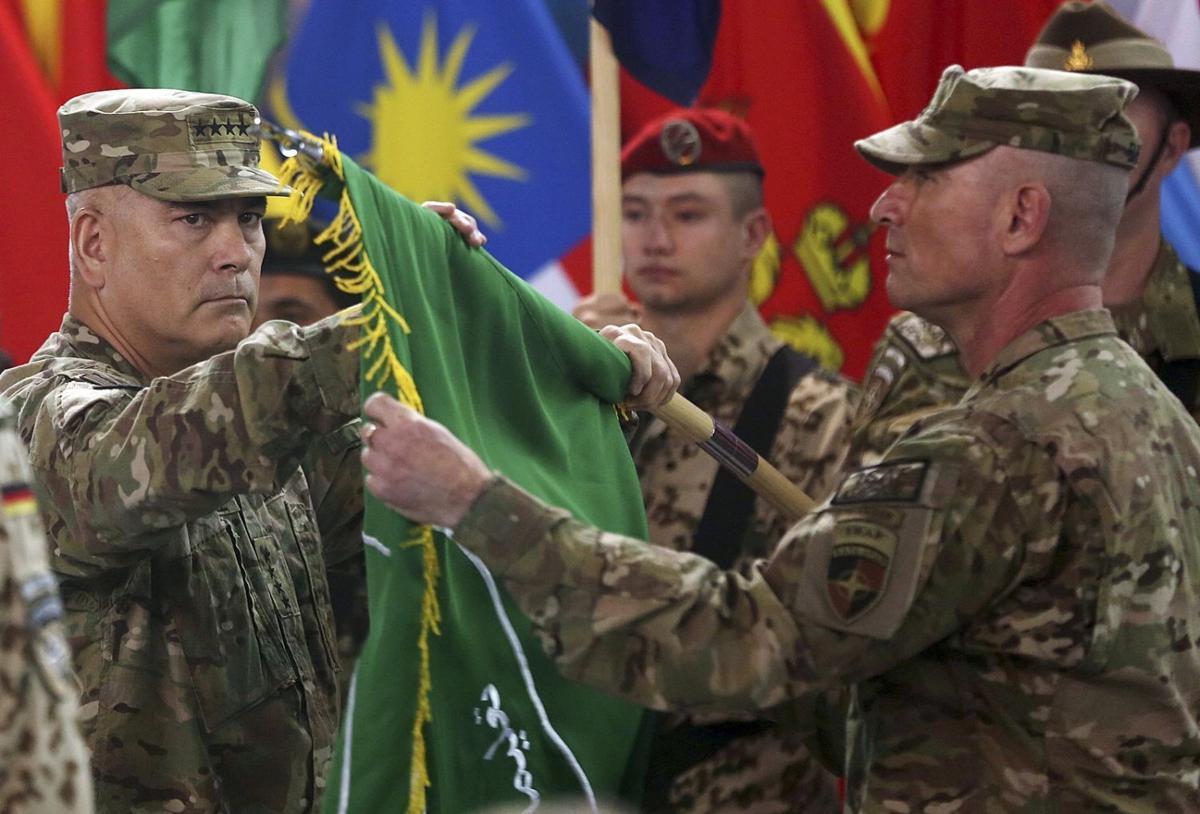 Afghanistan war ending