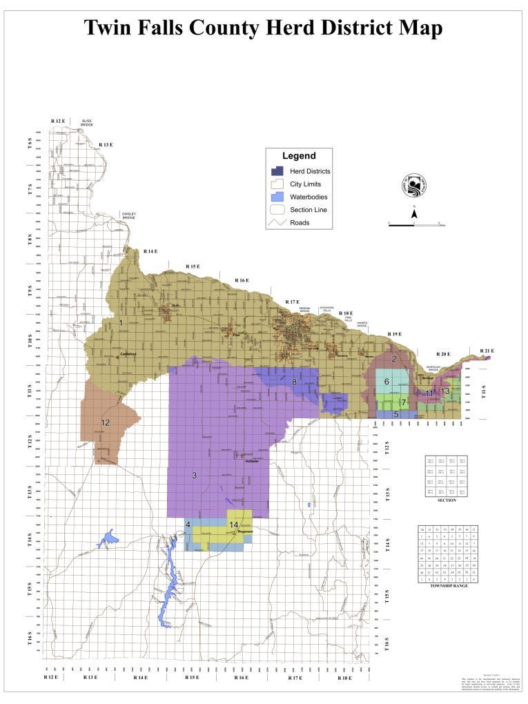 Open Range Map