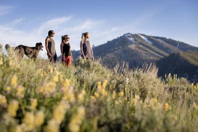 Hiking near Baldy Mountain
