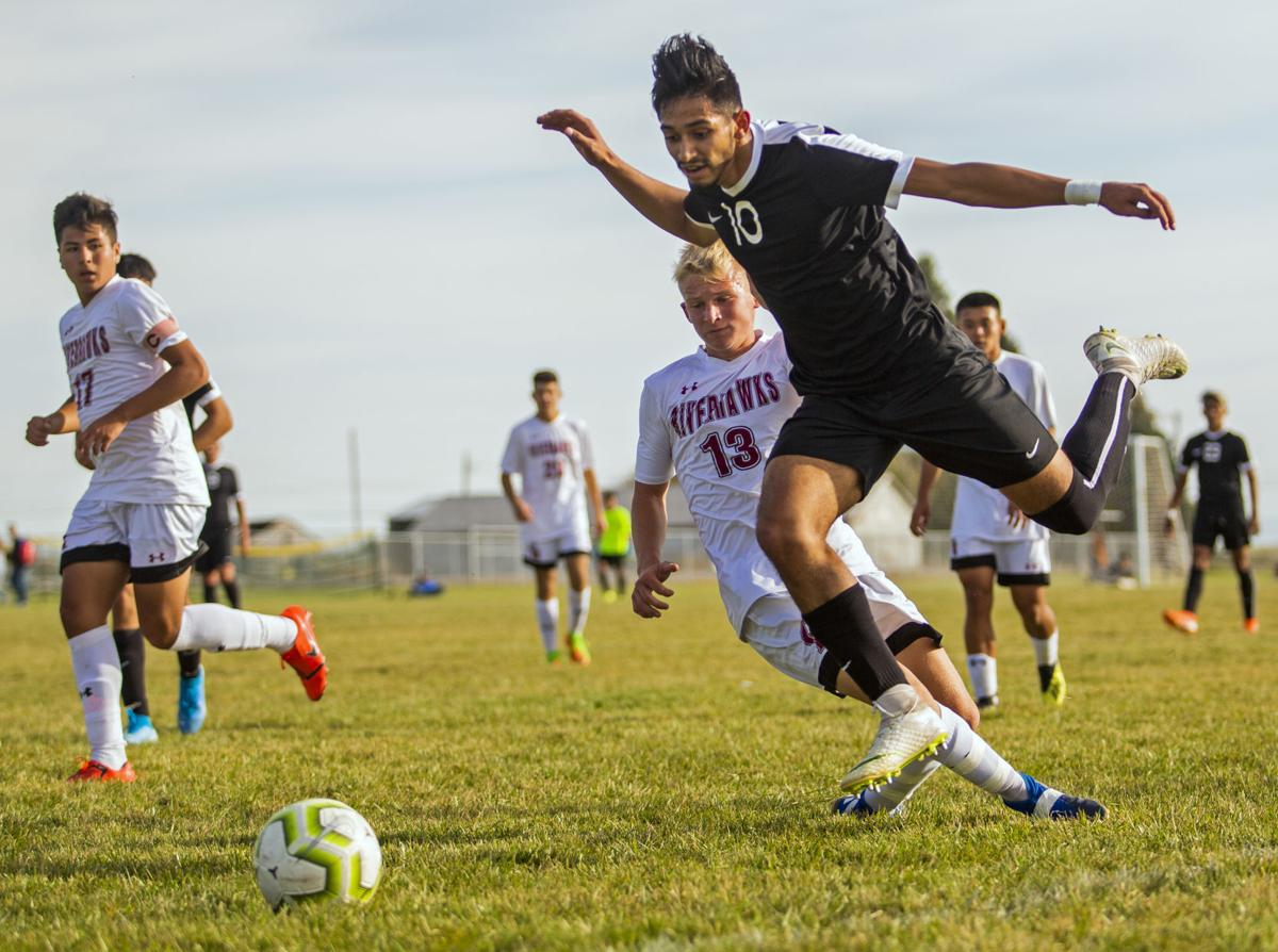 Jerome vs. Canyon Ridge boys soccer
