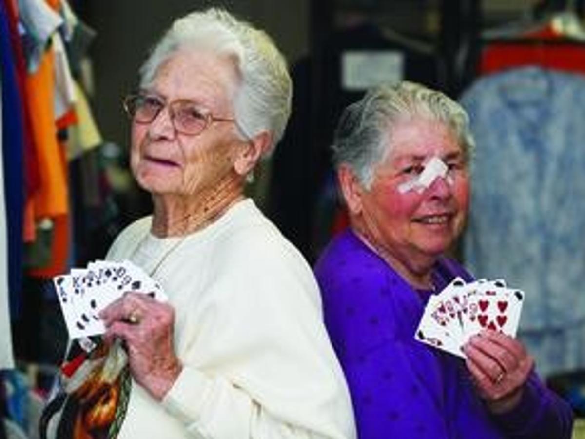 old woman at jackpot casino