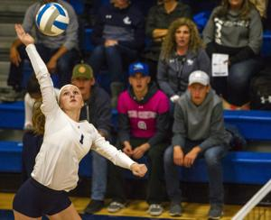 PHOTOS: Lighthouse vs Hansen volleyball