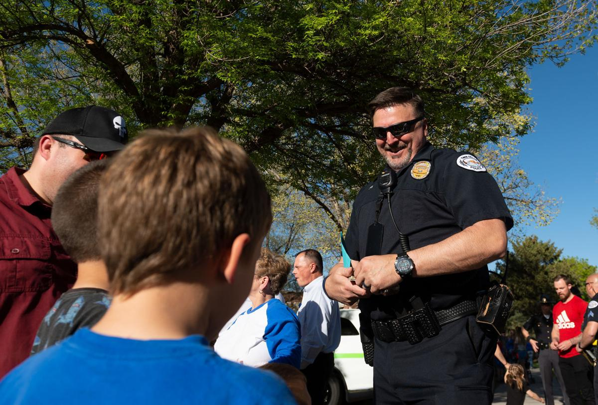 Back the Blue event held in Twin Falls