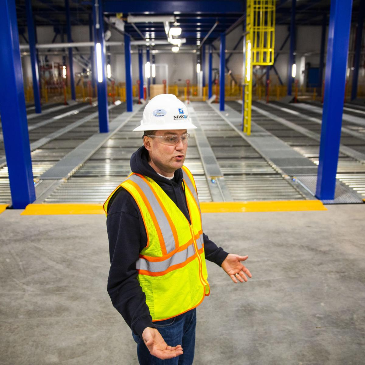 This new Burley warehouse is too cold for humans  That's