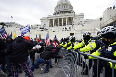 Trump supporters storm US Capitol, clash with police
