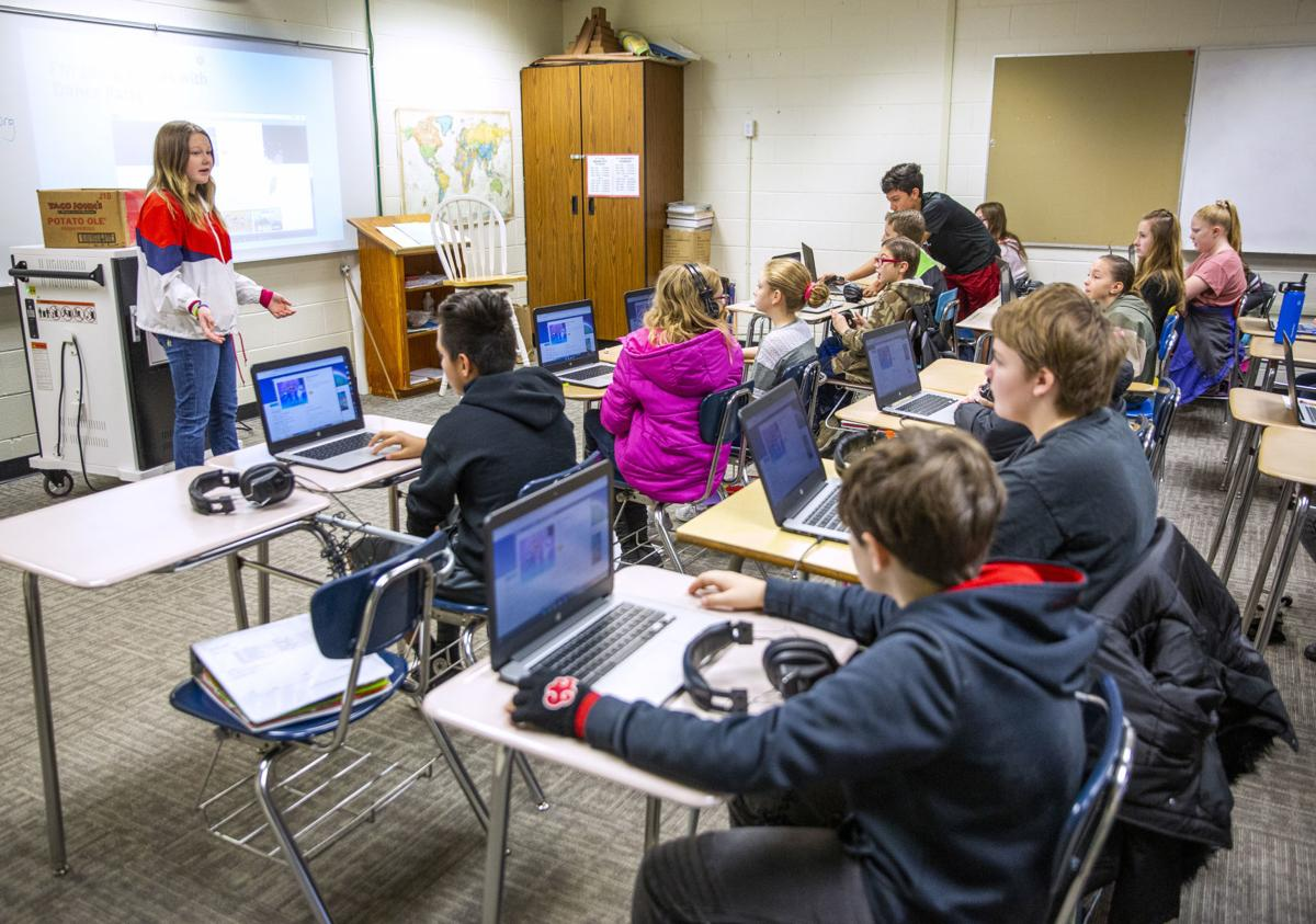 Hour of Code at Vera C O'Leary