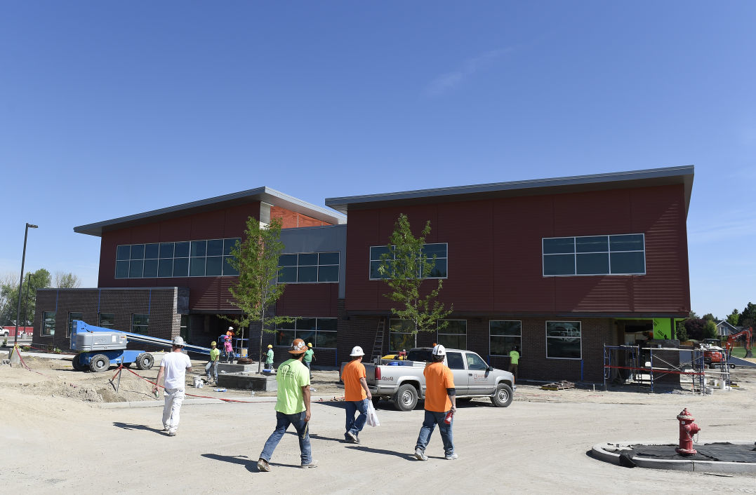 Pillar Falls Elementary School Coming Along