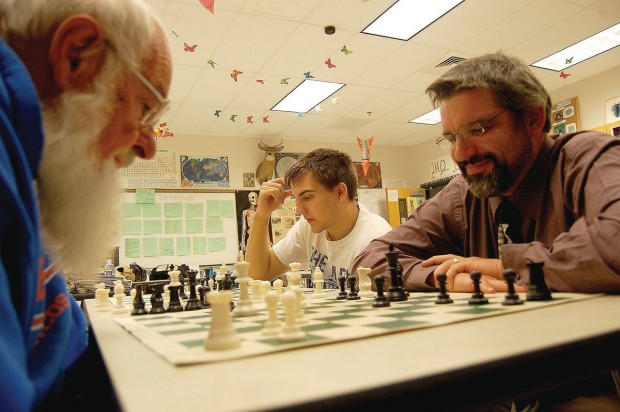 Chess enthusiasts passionate but low-profile