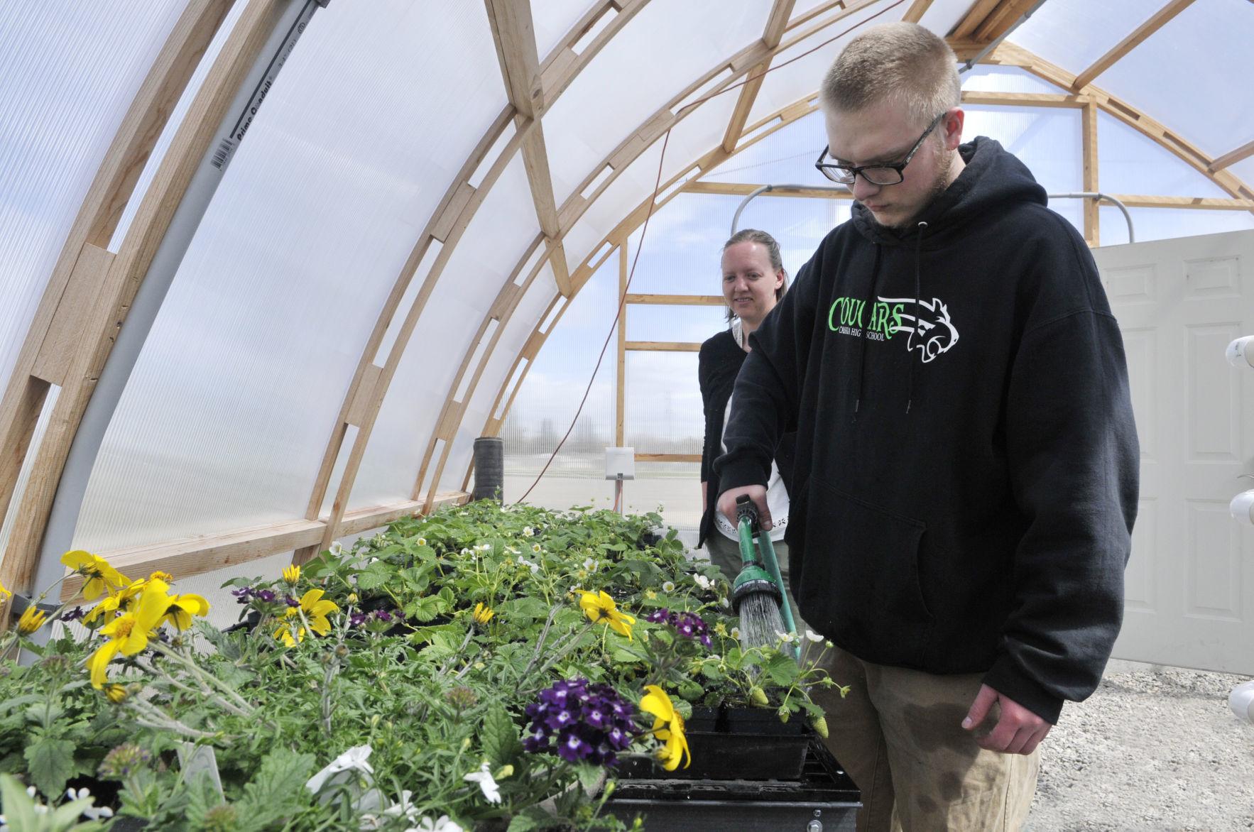 Burley alternative school teacher develops agricultural science