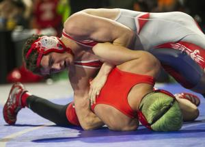 PHOTOS: IHSAA State Wrestling Day 1