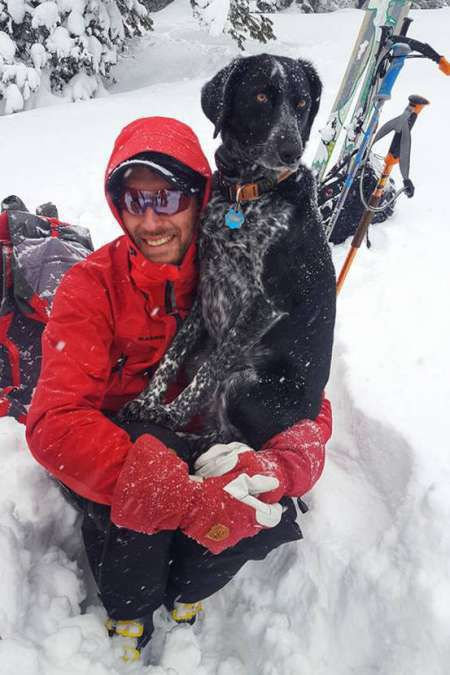 Dog and Backcountry Skiing