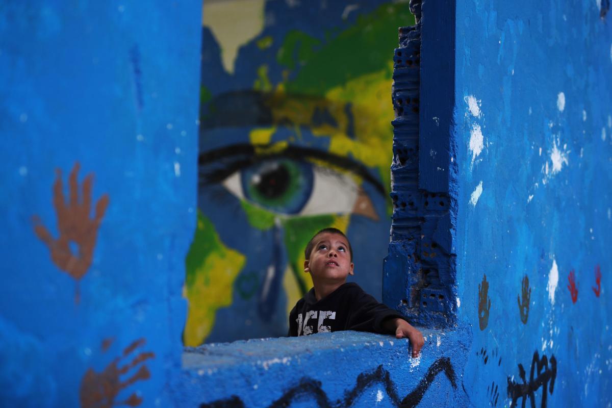 Greece Migrants' Misery Photo Gallery