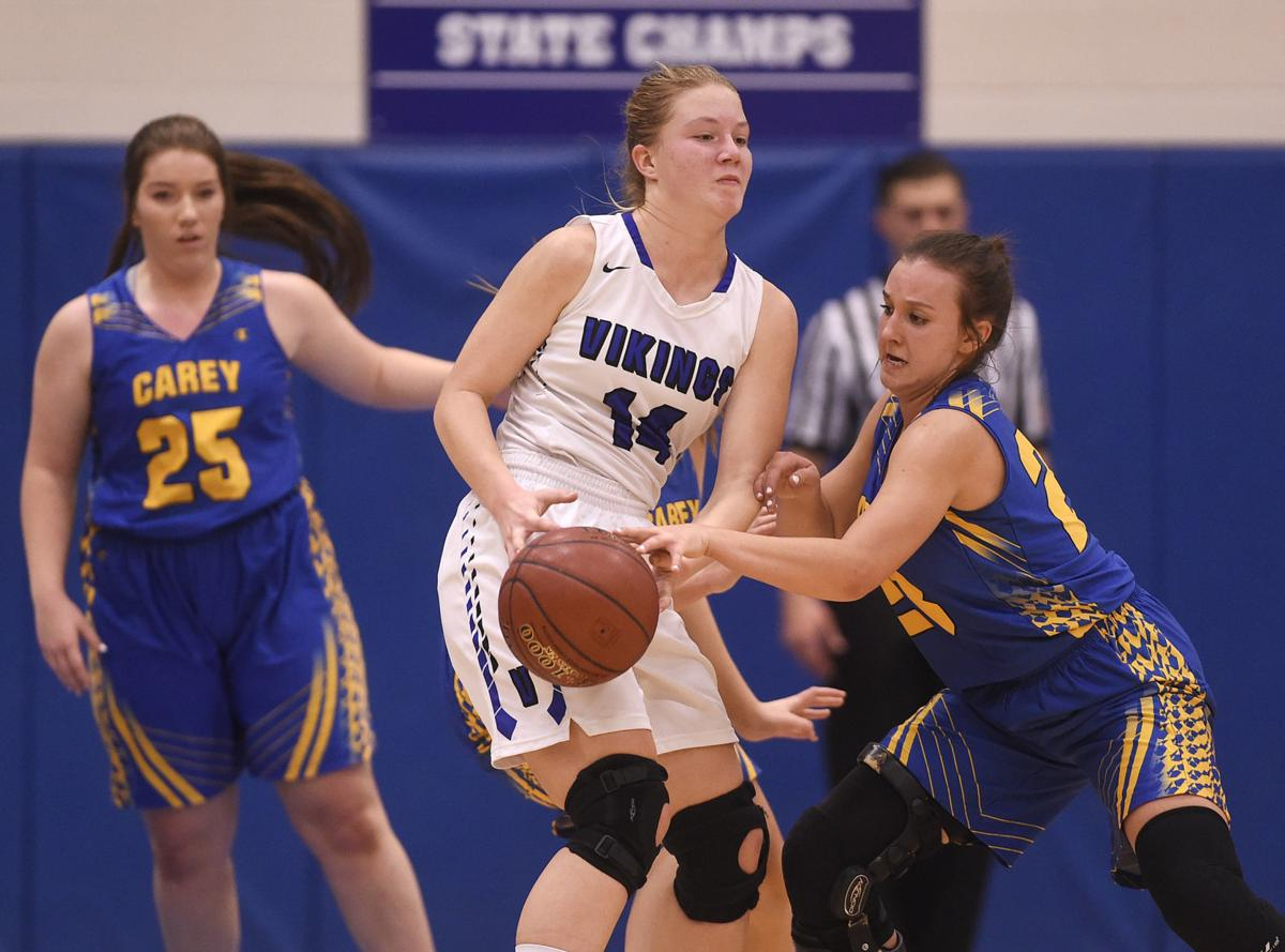 Girls Basketball - Carey vs. Valley