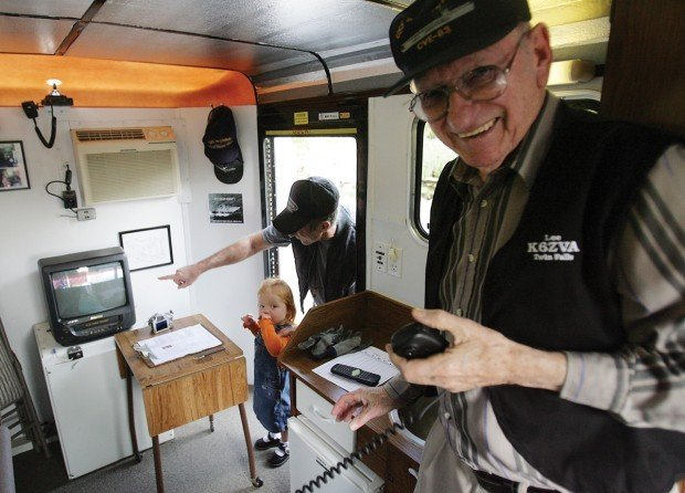 Scouts Dial into Past with Ham Radios