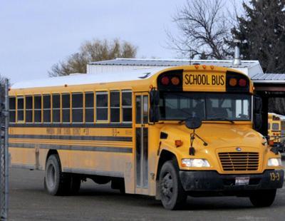 Minidoka County School District bus