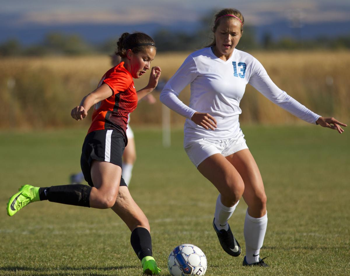 Twin Falls vs Jerome girls soccer