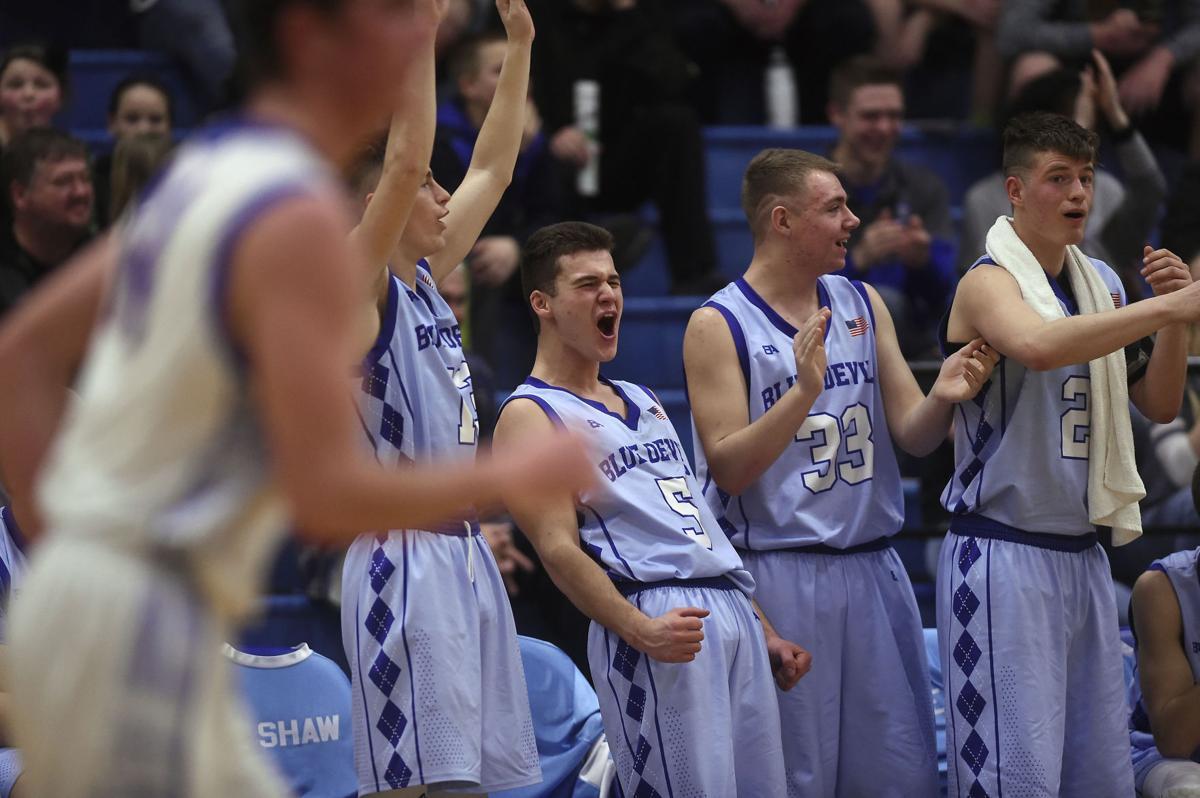 Boys Basketball Championships - Dietrich Vs. Rockland